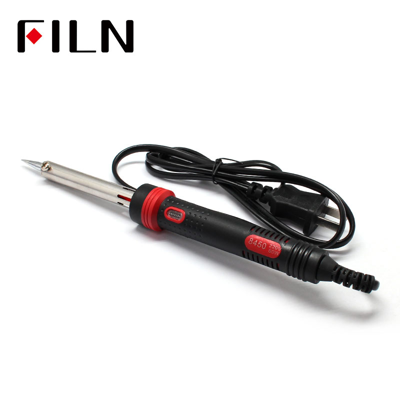 New 220V60W tip Welding Solder Rework Station Heat Pencil Repair Tool electric iron image