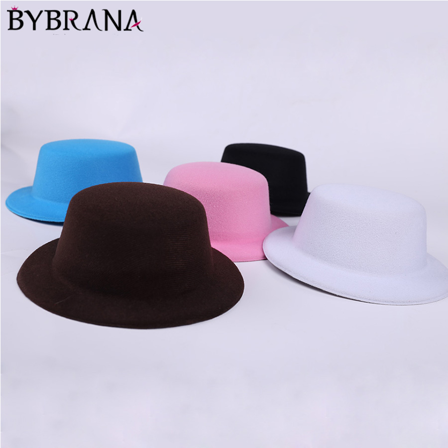 Bybrana 5 Styles Doll Hat Headwear Accessories For 1/3 1/4 1/6 1/8 1/12 Doll Gift New 2018 Toys For Girls