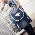 women backpacks female jeans and white shoulder retro bag denim satchel women's bag canvas school bag mochila feminina rucksack