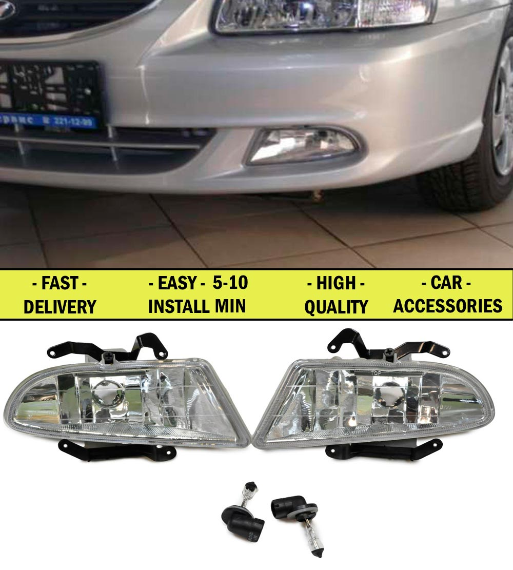 Fog lights for Hyundai Accent 2006- TaGaz galogen car accessories styling car lights decoration automotive lamp