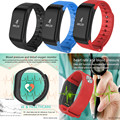 Heart Rate Blood Pressure Monitor Blood Oxygen Oximeter Fitness Tracker Bluetooth Smartband