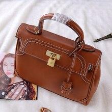Messenger Bag Women's Vintage Leather Handbags Luxury Brand Ladies Totes Casual Crossbody Bags Women Evening Bag  bolsa feminina