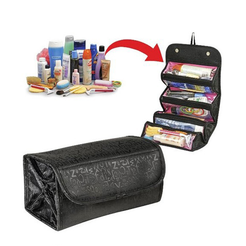 Cute Portable Travel Bag Organization Womens Beauty cosmetic Make up Storage Wash Bags H ...