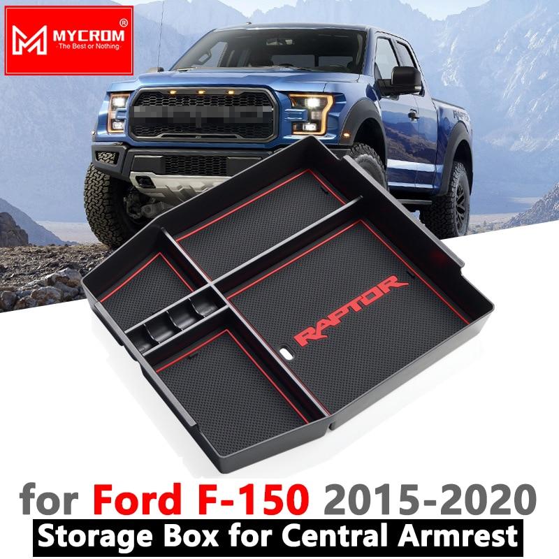 Armrest Box Storage Car Organizer Accessories For Ford