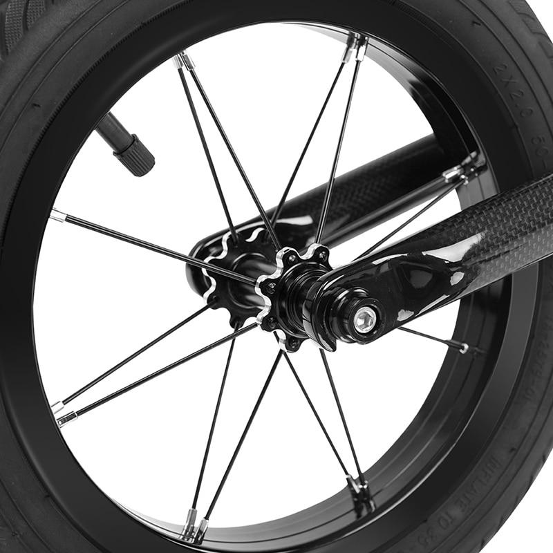ROCKBROS vélo vélo vélo fibre de carbone vélo enfant Balance vélo léger résistant à la Corrosion vélo pour 2-6 ans enfant - 6