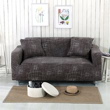 Elastic Sofa Cover 3 Seat L Shape Stretch Slipcover Couch Protector/ Chair Cover Sofa Covers Furniture Protector Polyester Loves
