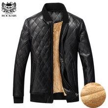 2017 brandneuen winter warm männer jacke UNS EUR größe Plus kaschmir PU mantel für männer