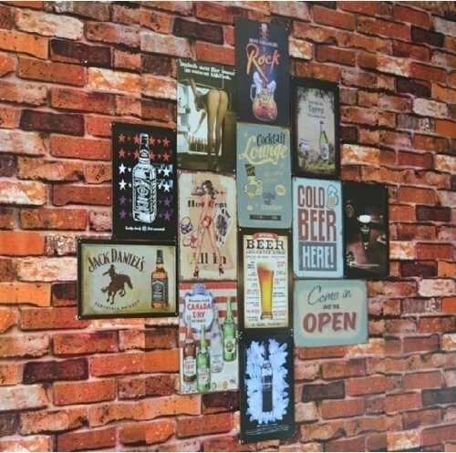 15x30 cm Brouwerij Bier Bar Pub Thuis Vintage Retro Poster Cafe Art Decor Metalen Tin Teken