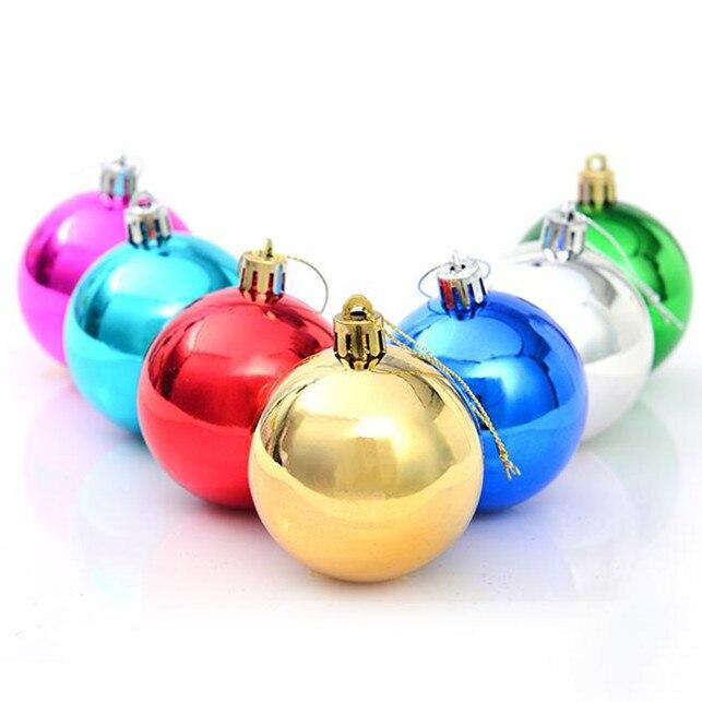 comprar cm bolas navidad para rbol merry christmas decoration pequea bola bolas del ao nuevo decoracin para el rbol de navidad en