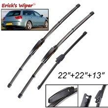 Erick erkek silecek LHD ön arka silecek bıçak seti koltuk Exeo için ST Estate 2008 - 2013 ön cam cam 22