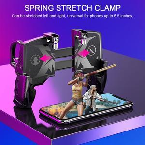 Image 5 - 2020 עבור Pubg בקר עבור טלפון נייד משחק Shooter הדק אש לחצן עבור IPhone אנדרואיד טלפון Gamepad ג ויסטיק PUGB עוזר