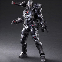 Play Arts Marvel The Avengers 3 Infinity War Iron Man Action Figures 1/6 PVC Toys War Machine PA Model 27cm