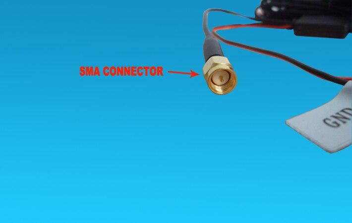 5 метров Авто DVB-T2 DVB-T ISDB-T Цифровое ТВ антенна с SMA разъемом антенна для автомобиля dvd-плеер цифровой ТВ коробка
