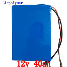 EU US no tax Great 12v lithium battery 40ah ion pack rechargeable bateria 40ah for laptop power bank 12v UPS cell electric bike