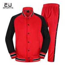 Европейский стиль мужская баскетбольная одежда комплект из Джерси