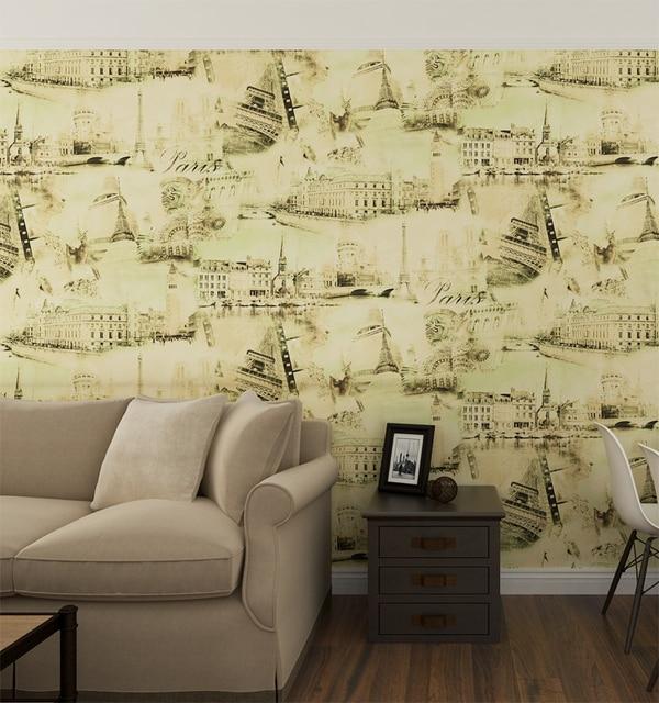 HANMERO 3D Embossed Vinyl PVC Floral Wallpaper Art On Wall Murals ...