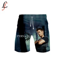 Supernatura 3D Spiaggia Shorts Uomini Gonne e Pantaloni Anti-Uv Shorts di Nuoto di Stampa SurfinMg Shorts Estate Draw String Elastico In Vita Corta(China)