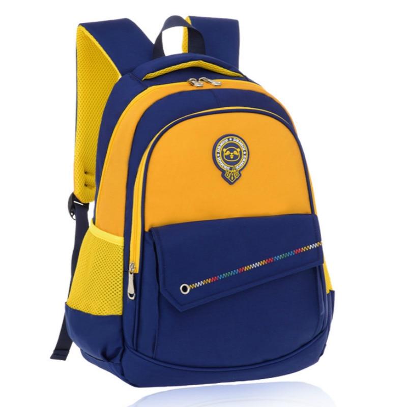 Купить детская школьная сумка водонепроницаемая ортопедическая для