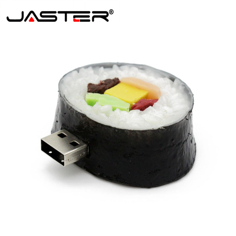 JASTER Kdata Sushi Usb Flash Drive Creative Pendrive Cartoon Pen Drive 4gb 8gb 16gb 32gb Memory Stick Cute Food Gift Toy U Disk