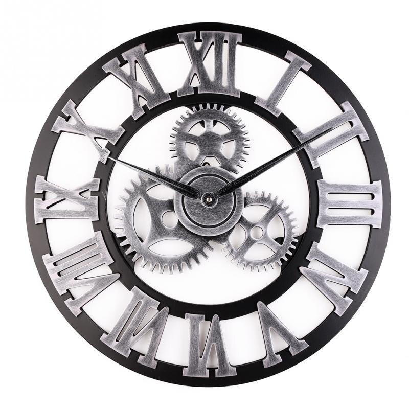 2018 nouvelle maison salon décoratif horloge murale 3D en trois dimensions acrylique carré miroir horloge bricolage Stickers muraux cadeaux uniques