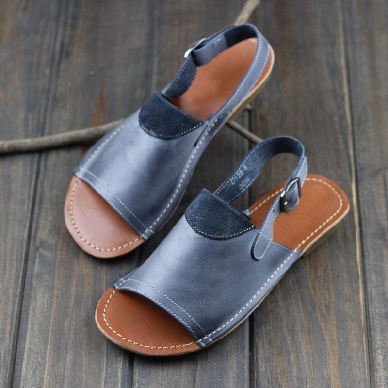 ФОТО Woman Shoes Gladiator Women Sandals Genuine Leather Ladies Summer Shoes Female Footwear (1021-2)