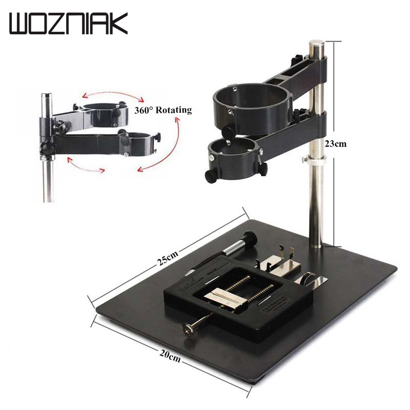 Wozniak Repair Platform Hot Air Gun Clamp Stand-Holder for SMD Rework Soldering Station 1set hot air gun clamp stand repair platform for bga rework reballing station hot air heat gun bracket holder hot sale wholesale