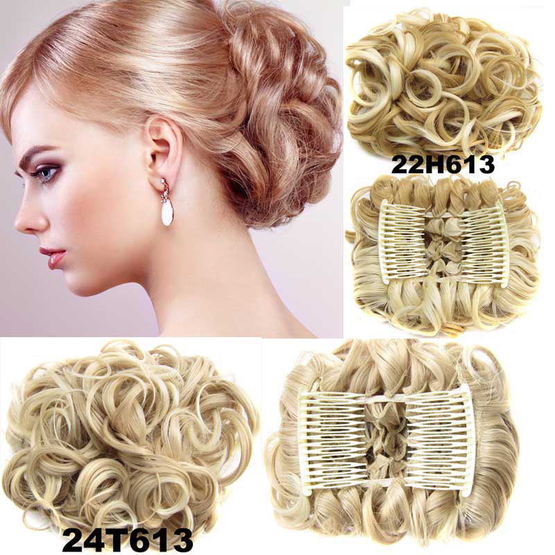 12Colors Comb Claws  Hairpiece Curly Hair Accessories