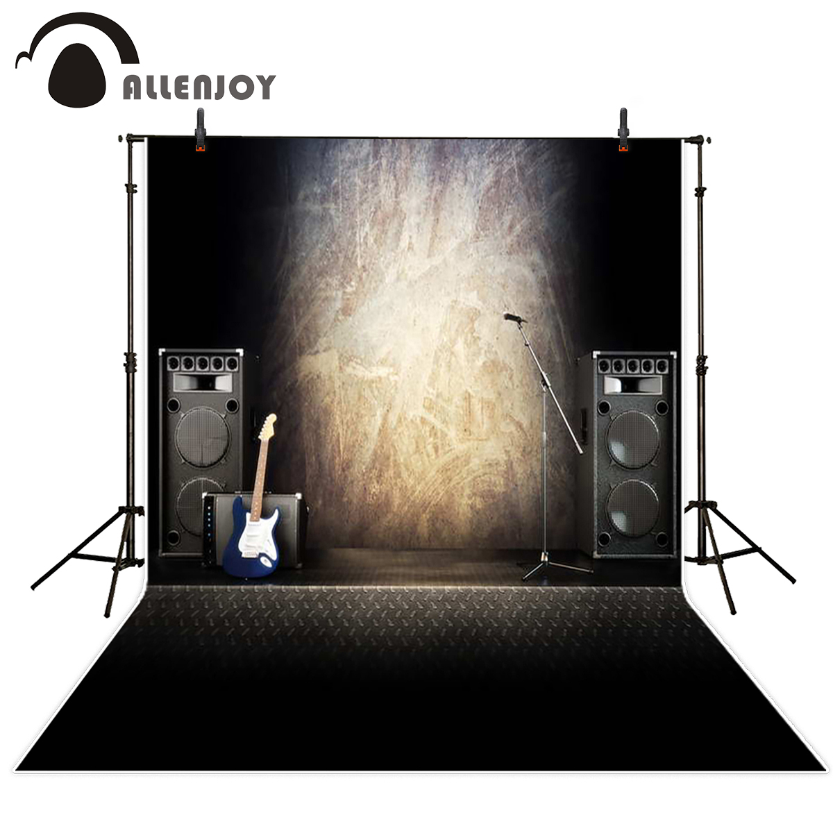 Allenjoy background photography guitar speakers brick wall backdrops photographic professional fabric photocall newborn allenjoy photographic background plank wood floors flower tulip newborn vinyl backdrops photography photocall wall floor