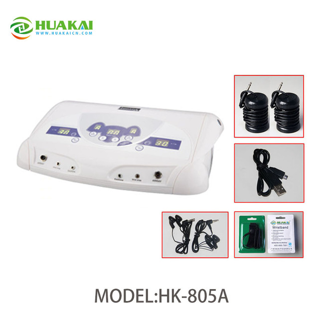 Health Care Dual System Ion Detox Foot Spa Electric Detoxification ...