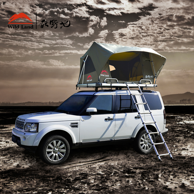 Wildland Roof top tent car Pathfinder I two person outdoor automatic four season tent & Wildland Roof top tent car Pathfinder I two person outdoor ...