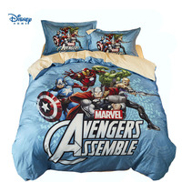 The Avengers comforter bedding sets boy adult 3d 100% cotton bed linens spiderman quilt cover single twin queen full size Marvel