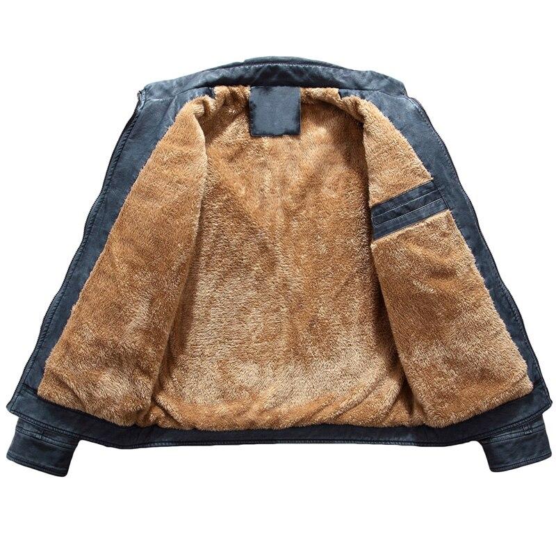 2017 chaqueta de cuero para hombre Otoño Invierno Casual chaquetas para Hombre Ropa sólida al aire libre moda caballeros PU ropa de abrigo para motocicleta 310-in Chaquetas from Ropa de hombre    3