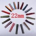 Carty 1 unids 22mm nylon reloj banda de la otan correa impermeable reloj correa