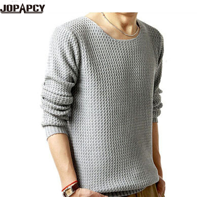 High Quality new 2017 fashion  O-neck plus size  sweaters men winter warm pollover men Vintage casual Sweater MXD0005