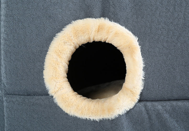 Hoopet New Washable Pets Cat House Cozy Cave Warm Soft Cave Bed Portable Hammock Sleeping Bed for Cat All Seasons (11)