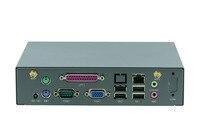 Мини ПК промышленного доска мини сервер Поддержка беспроводная клавиатура, мышь D525 Процессор/WI FI/3g/VGA/LPT/COM linux barebone pc