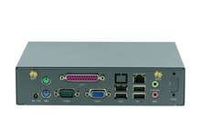 كمبيوتر صغير لوحة الصناعية خادم صغير دعم لوحة المفاتيح اللاسلكية ، الماوس D525 D2700 وحدة المعالجة المركزية/واي فاي/3G /VGA /LPT/COM لينكس باربون الكمبيوتر