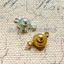 10MM 200Pcs Silver & Gold Plated Jewelry Hooks Clasps For Necklace & Bracelet Jewelry Accessories