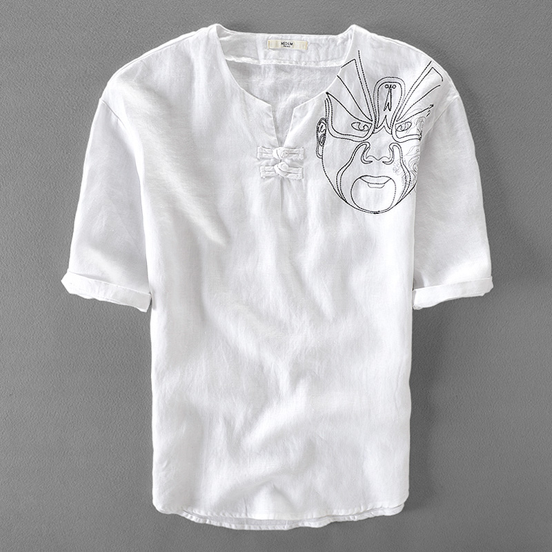 Compare Prices on Collarless White Shirt- Online Shopping/Buy Low ...