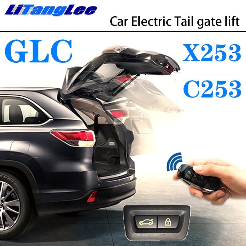 LiTangLee Car Electric Tail Gate Lift Trunk Rear Door Assist System For Mercedes Benz MB GLC Class X253 C253 2015~2019