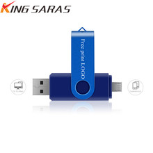 Pendrive 128gb Usb Flash Drive 64gb Disk 8gb 32gb 4gb OTG Pen 16gb Metal For Phone Memoria Free Shipping & Logo