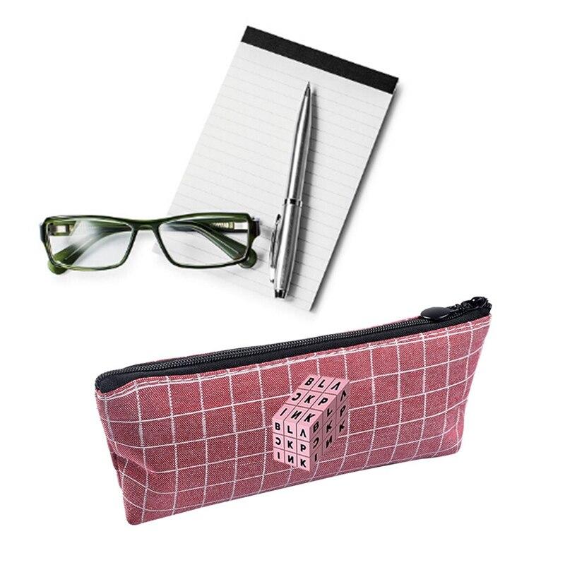 1pcs K-pop Bts Bangtan Boys Pencil Case Stationery Pencil Bag Blackpink Pencil Box School Office Supply