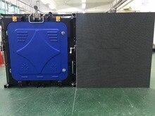 16pcs outdoor P6 full color,SMD 3535 1/8 scan,576X576mm die casting aluminium cabinet Including flight cases sending card