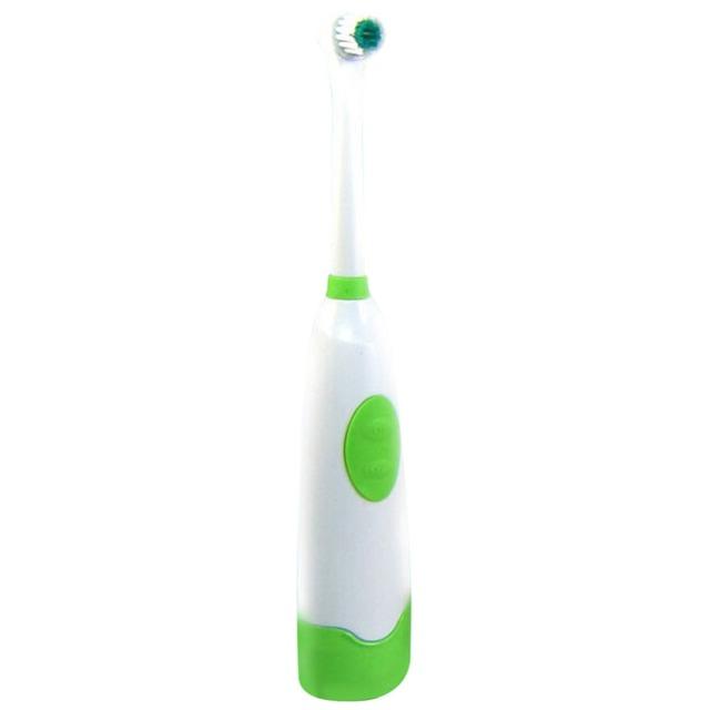 Rotating Anti Slip Waterproof Electric Toothbrush + 2Brush Heads gift