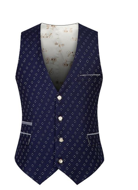 2017 New Men's Fashion Brand Clothing Vests Waistcoat Suit Vest Men Slim Fit Dress Suit Vest