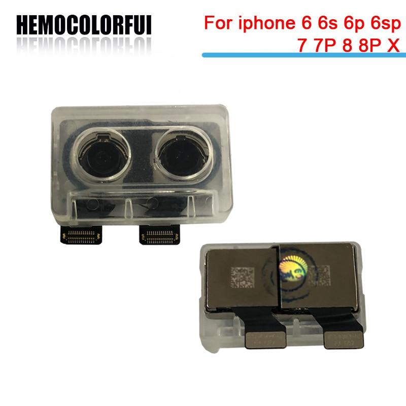 HEMOCOLORFUI Back Camera for iPhone 5S 6