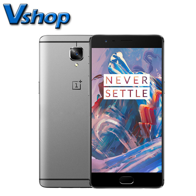 OnePlus 3 4G LTE Mobile Phone Android 6.0 Snapdragon 820 64GB ROM 6GB RAM 1080P 16.0MP Camera Dual SIM 5.5 inch Cell Phone FNC