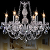 Free Shipping Modern Crystal Chandelier Lighting K9 Crystal Pendant Light Hanging Lamp Home Lighting Fixture By