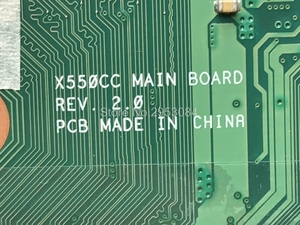 Image 3 - X550CC Motherboard REV:2.0 GT720M 4GB I3 3217U For Asus X550CC R510CC Laptop motherboard X550CC Mainboard X550CC Motherboard