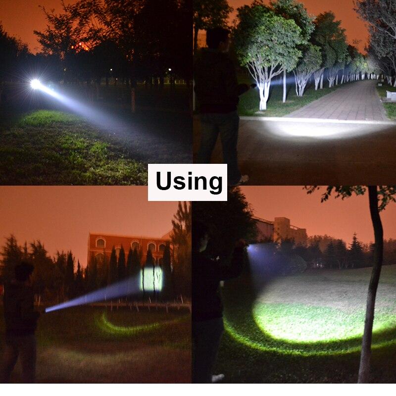 Lanternas e Lanternas d' Água Distância de Iluminação : 200-500 m
